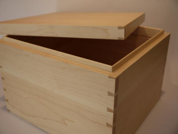 Picture of Large Maple Storage Case