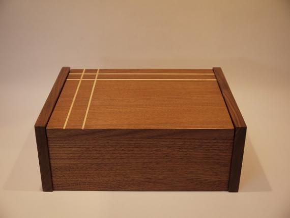 American Black Walnut Jewellery Box