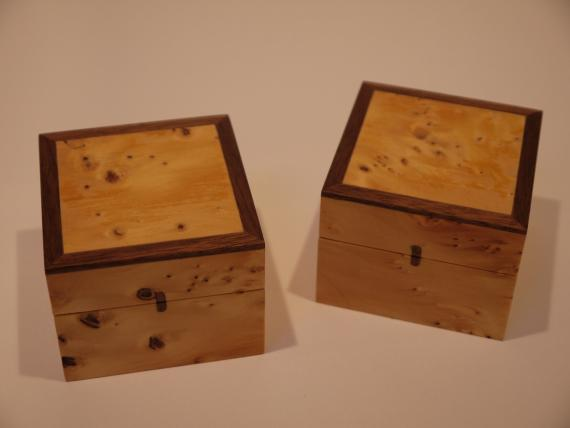 Huon Pine Ring Boxes