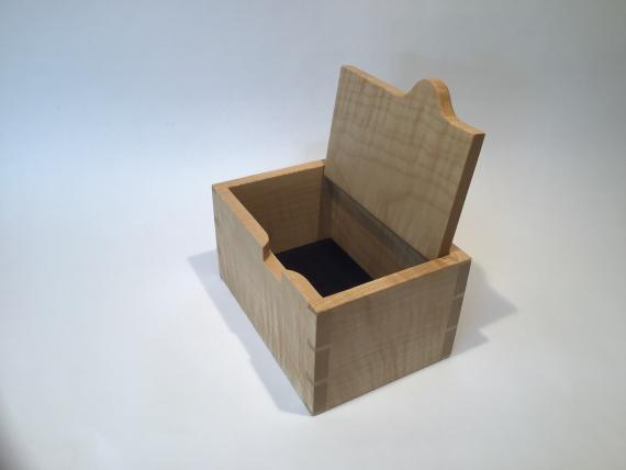 Picture of Ripple Sycamore Keepsake Box