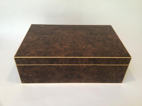 Walnut Burr Jewellery Box