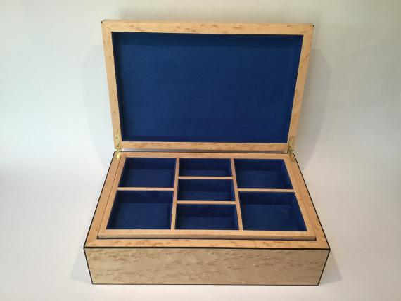 Picture of Birds Eye Maple Jewellery Box