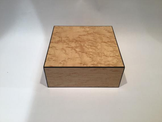 Birds Eye Maple Trinket Box