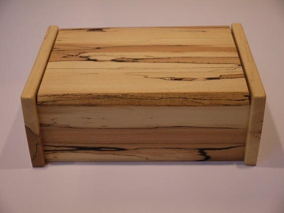 Spalted Beech Desk Box